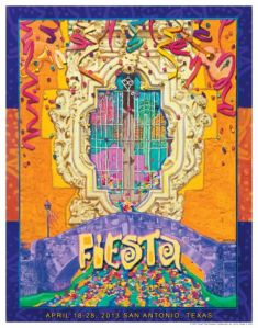 The 2013 Fiesta poster.