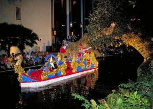 King Antonio's float during the Fiesta River Parade. Photo courtesy of lubbockonline.com