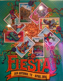 Official 2014 Fiesta SA poster